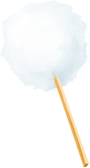 Cotton candy (cotton candy)
