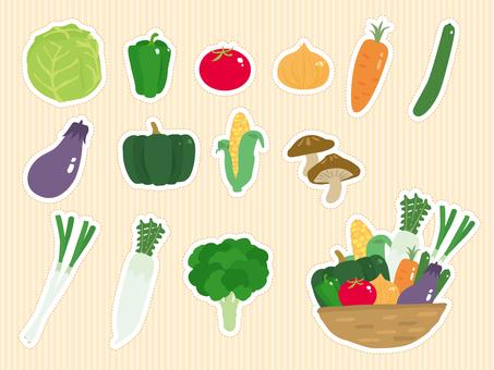 Vegetable sheet