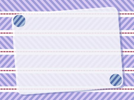 Stripe 0003 - Frame - purple