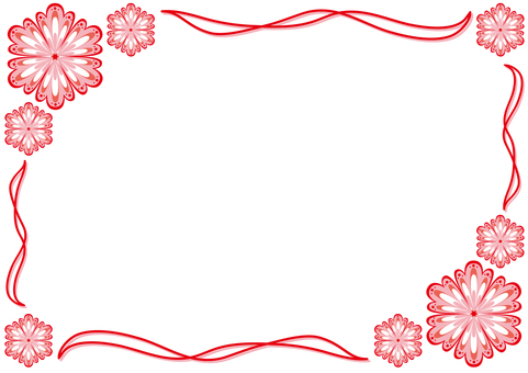 Card - Chinese style - red