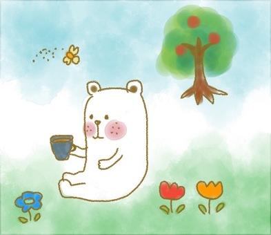 곰의 휴식 시간