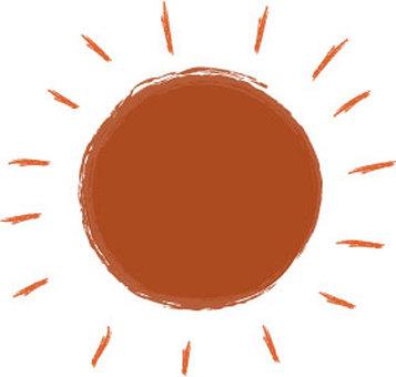Sunny day-the sun