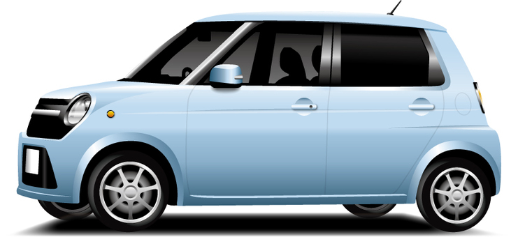 Light car (blue)