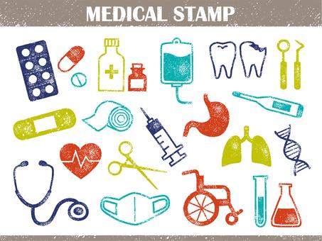 Medical stamp 001