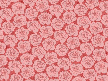 玫瑰背景-06(紅色)