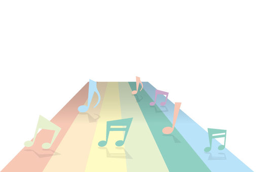 MUSIC and rainbow