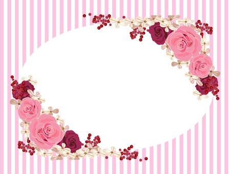 Wolf frame pink