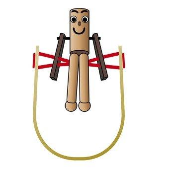 Gymnastics doll