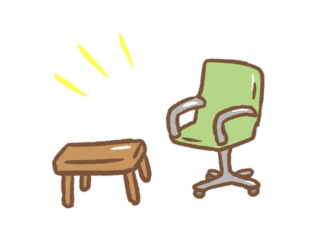 Simple chair set
