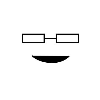 안경 얼굴