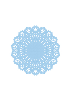 Light blue lace paper