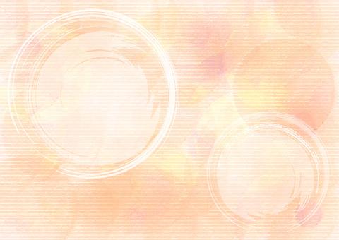 Japanese_ pastel_ orange background