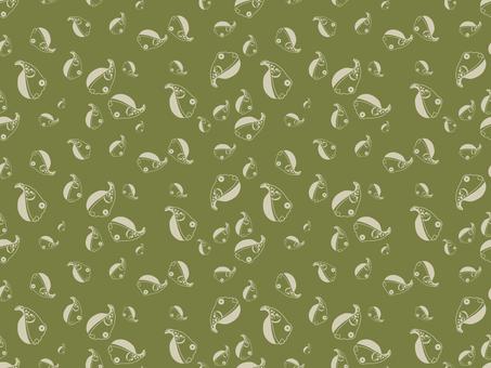 Pattern - Japanese pattern - puffer