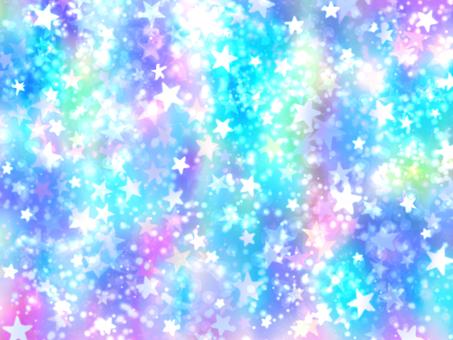 Starry glitter blue wallpaper