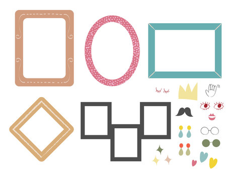 American picture frame set