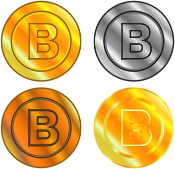 Virtual currency set
