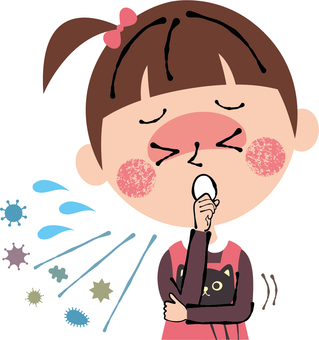 Children girls cough Allergies Cold cold throat