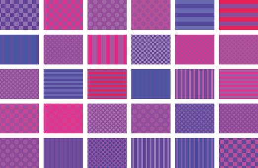 Pattern - Purple 01