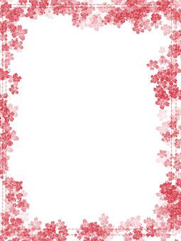 Cherry tree frame (vertical)