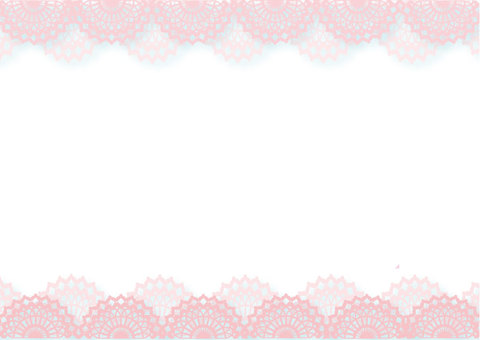 레이스 핑크 흰색 배경