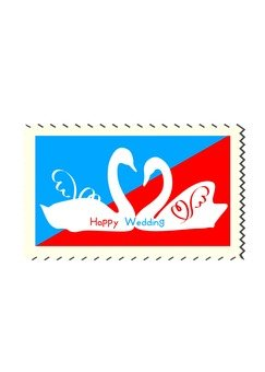 Swan stamp