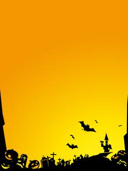 ハロウィン背景1