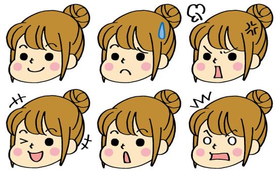 표정 ★ 여자 2