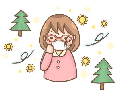 Hay fever mask