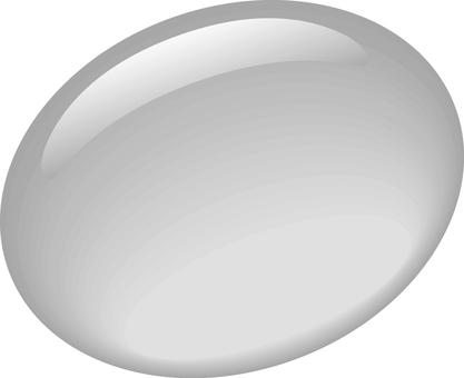 Purupuru Button 【Gray】