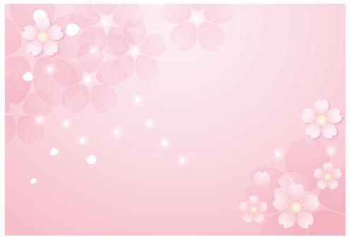 粉紅色的花背景