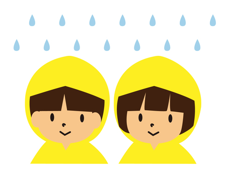 Rainy day (two people)