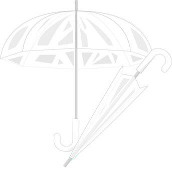 Vinyl umbrella