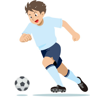 Soccer Sports Illustration
