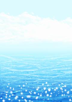 반짝 물과 하늘