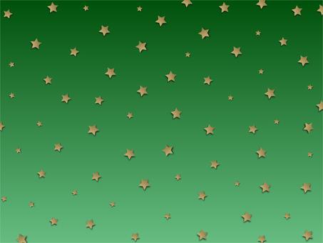 Christmas golden star wallpaper material