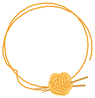 Yarn frame decoration 4