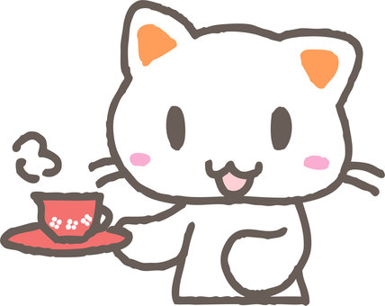 Cup and cat
