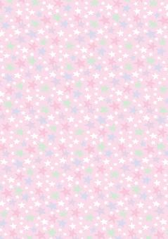 Star pattern wallpaper pink