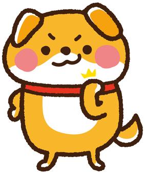 Guts dog