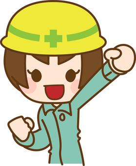 建築業女3