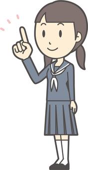 初中水手女人-206-全身