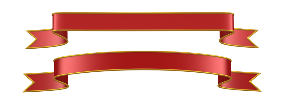 Ribbon red (clipped)