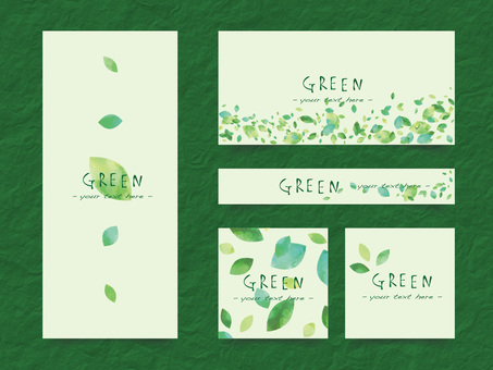 New green frame set ver 08