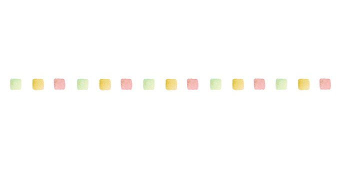 Watercolor square line