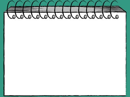 スケッチブック 手描き風
