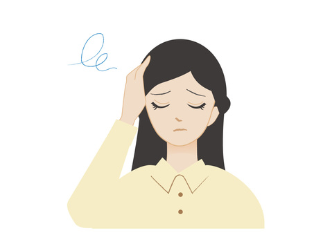Illustration of headache headache