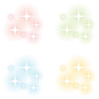 반짝이 삽화