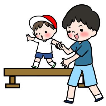 게임 부모 - 자식 육상 평균 대만