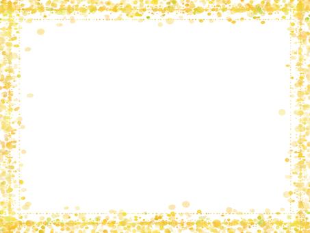 Dot frame 5 (yellow orange)