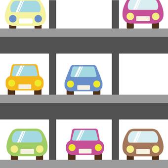 Image of multi-storey parking lot